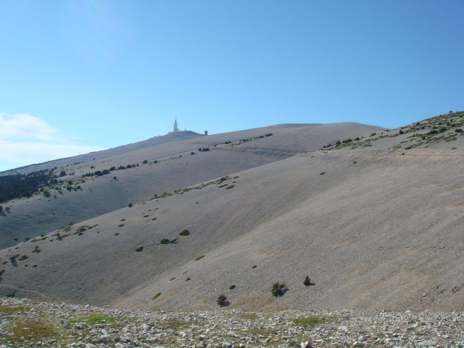 Het Maanlandschap van de Mont Ventoux